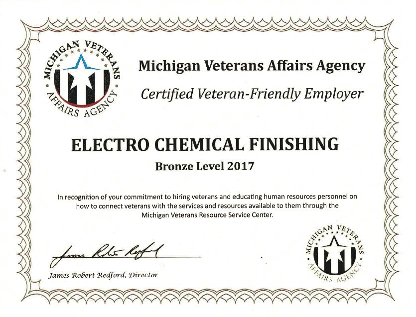 Veteran-friendly employer